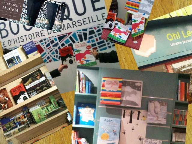 Les bonnes librairies qui proposent nos ouvrages